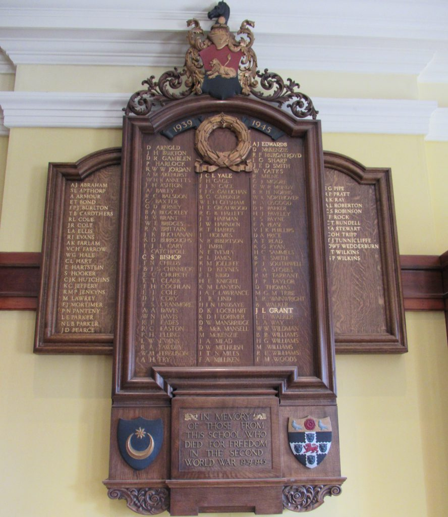 portsmouth grammar school remembrance